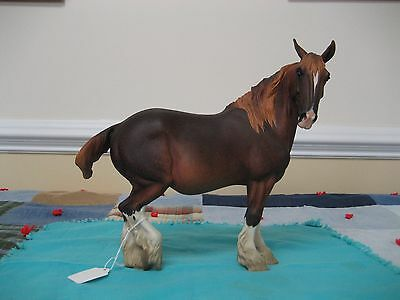 Lynn Fraley resin Draft Horse Koko Mare