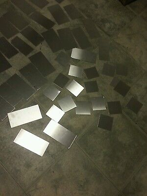 "Stainless steel 304 sheet 10+ pieces 24 gage Plate various sizes 3"" to 8"""