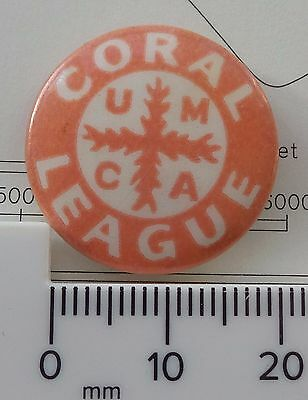 Old Coral League Umca Universities Mission To Central Africa Christian Pin Badge