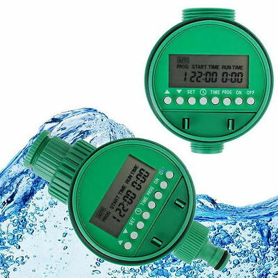 2X Home Water Timer Garden Irrigation Controller 5548-16 Set Water Programs BY