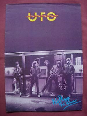 UFO No Place To Run Official Tour Programme 1979-1980 VFN