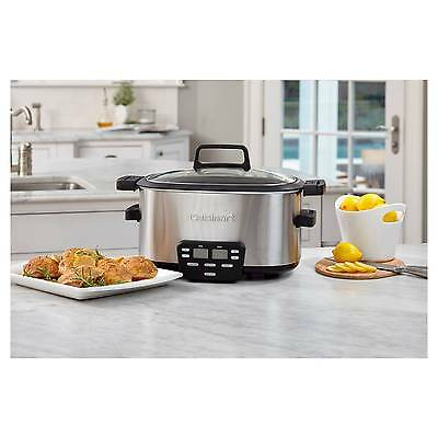 Cuisinart 6 Qt. Electric Multi-Cooker - Stainless Steel MSC-600