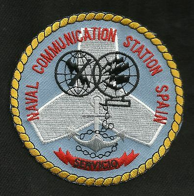 Us Naval Communication Station Ncs Spain Military Patch Servico