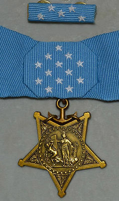 BOXED US WW2 CONGRESSIONAL MEDAL ORDER, NAVY,MEDAL OF HONOR,RARE New Year Sale