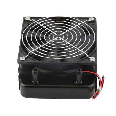 120mm Water Cooling CPU Cooler Row Heat Exchanger Radiator with Fan for PC BY