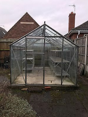 Glass greenhouse 8ft X 12ft
