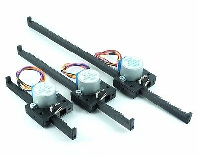 Linear Actuator Stepper Motor 4 Arduino, Raspberry PI micro Rack and Pinion NEW!
