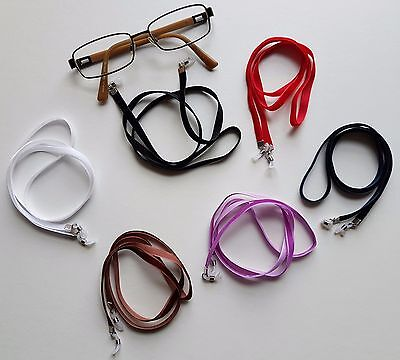 Handmade Soft Premium Velvet Eye Glasses Neck Strap Choice of 6 Colours