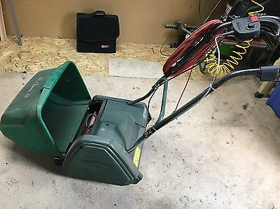 Qualcast Electric Cylinder Self Propelled Lawnmower