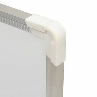 60cmx40cm Double Sided Drywipe Magnetic Notice Memo Whiteboard Aluminium Frame
