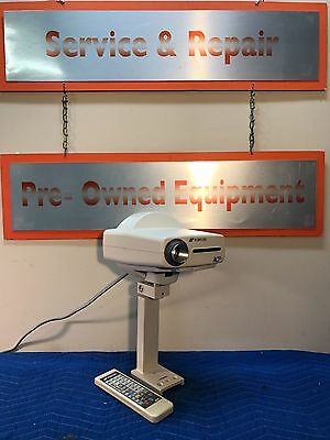 Topcon ACP-7R Autochart Projector System - Remote, Wall Mount, and Screen Includ