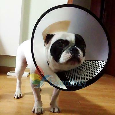 Pet Dog Cat Protective Collar Wound Healing Medical Cone Bite Shower Protector A