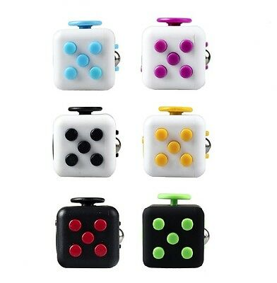 (1) Fidget Cube Anxiety Stress Relief Focus Adults Kids Attention Therapy Autism