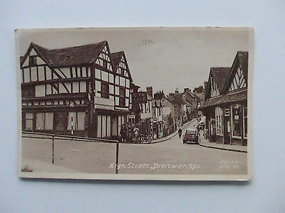 1958 Postcard Of High Street, Droitwich Spa