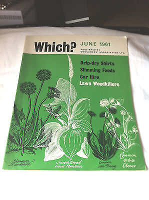 Which Magazine, June 1961, Vintage,  Used,