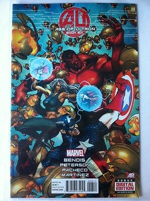 Marvel - Comics - Age Of Ultron - Book Six - Bendis - Patterson - Pacheco -