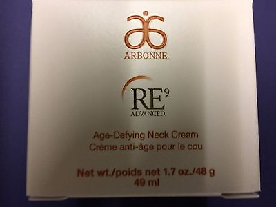 Arbonne RE9 Age-Defying Neck Cream Full size New