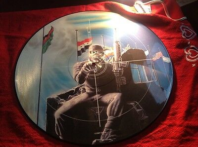 iron maiden picture disc 2 minutes to midnight picture disc