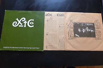 XTC - English Settlement Original Psych 1982 1st press Rare UK Double LP