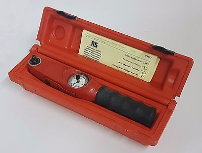 RS Pro 1/4 in Square Drive Dial Torque Wrench, 0.3 -  4nm 575-633