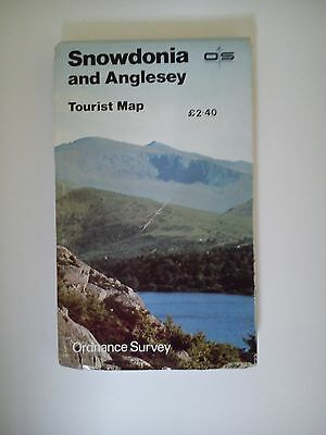 Ordnance Survey Half-Inch Snowdonia and Anglesey Tourist Map