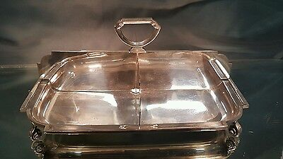 A vintage silver plated cake tray.very elegant and rare.