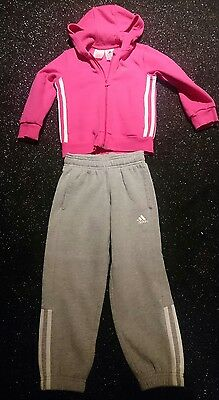 Adidas tracksuits girls