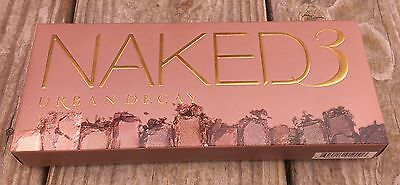Brand New Naked 3 Eyeshadows Palette - (Used By Professional Makeup Artists)