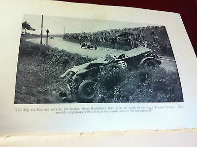 Vintage classic old motor racing cars parts historical photos Le Mans Bentley
