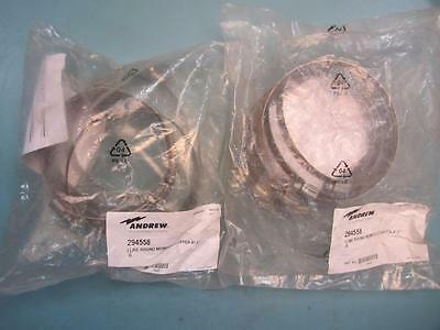 """Andrew - 294558 - Lot of 2 - 4""""-5"""" Hose Clamp Round Member Adapter for Round"""