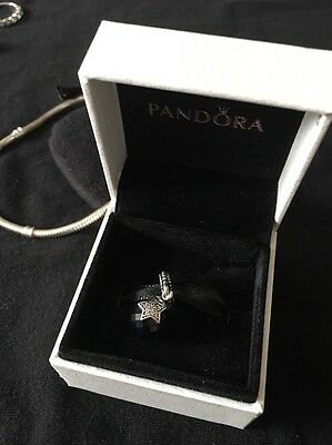 Authentic PANDORA Moon And Star Charm