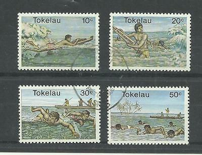 TOKELAU 1980  Water Sports   very fine used set