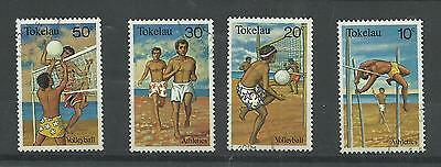 TOKELAU 1980 Sports   very fine used set