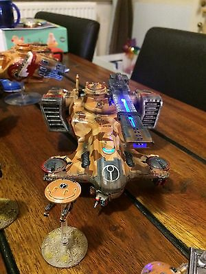 Tau Empire Army With Lights Well Painted Warhammer 40k Games Workshop
