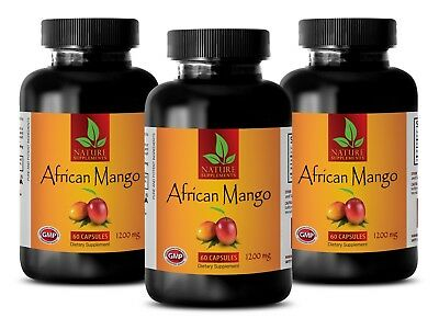 African Mango Lean Extract With Acai Fruit - Fat Burner Weight Loss Dietary - 3B