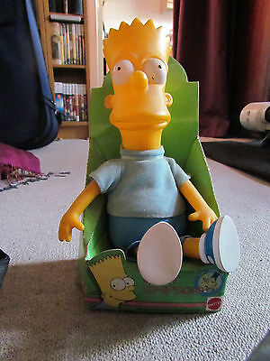 THE SIMPSONS - BART SIMPSON - VINTAGE BOXED DOLL 1990s