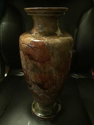 Amazing Glazed Royal Doulton 1923-1927 Vase Rare