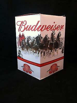 NEW In Original Box  2011 Budweiser Christmas Holiday Stein With COA #C990