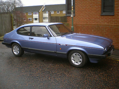 Breaking 1984 Ford Capri 2.8 Injection Special