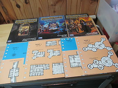 AD&D Dungeons Dragons RPG TSR Parts from 1040 System Waterdeep City of Splendors