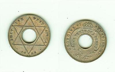 1/10 Penny  1945   British West Africa