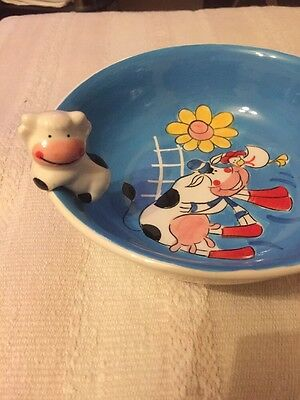 Cereals Bowl Indra Hand Painted New