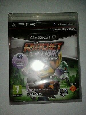Ratchet & Clank Hd Collection Trilogy Nuevo Pal España Ps3