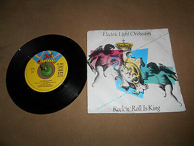 ELO - Rock and Roll is King (1983) Vinyl 7` inch Single Vg +