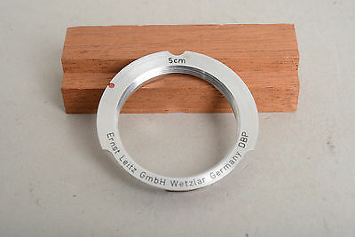 Leica Leitz 5cm (50mm) screw mount to M adapter ring