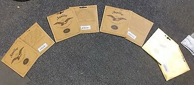 TWO SETS of Aquila ukulele strings in Soprano Concert, Tenor or Baritone,