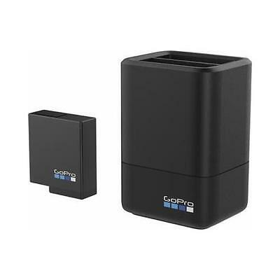 GoPro Hero 5 Black Dual Battery Charger, Charges via any USB port, Includesa spa