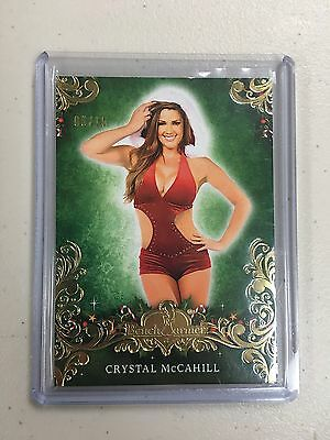 2014 Benchwarmer Happy Holidays Crystal McCahill 6/15