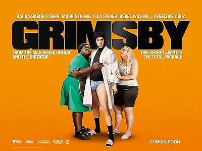 """Grimsby 16"""" x 12"""" Reproduction Movie Poster Photograph"""