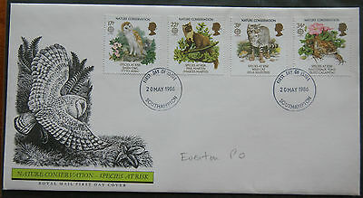 Nature Conservation - Species At Risk 1986 First Day Cover